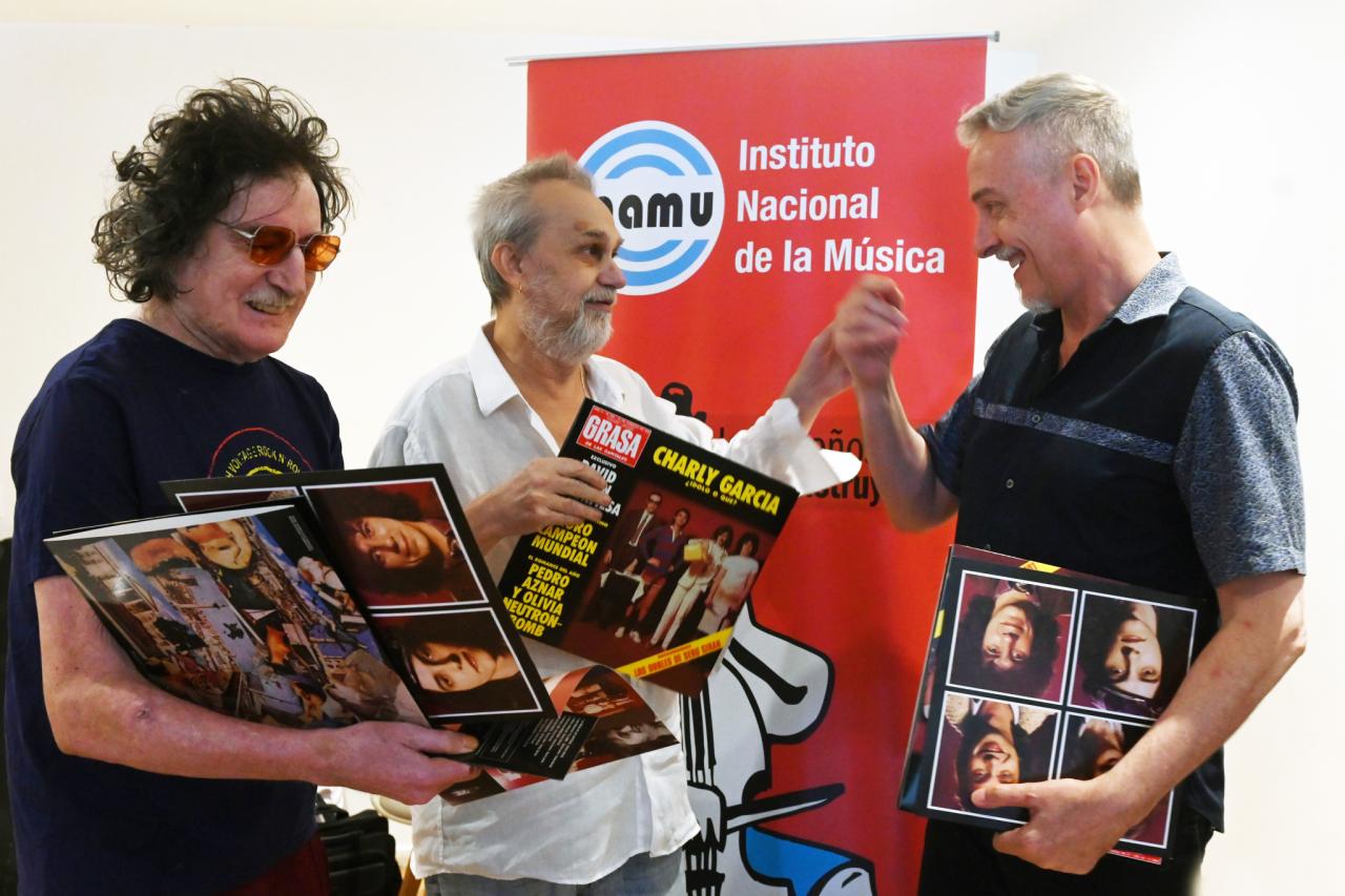 Pedro Aznar, sobre la remasterización de Grasa de Las Capitales